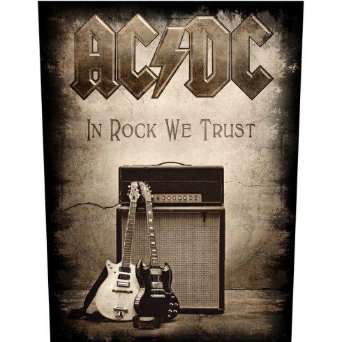 AC/DC - In Rock We Trust hátfelvarró