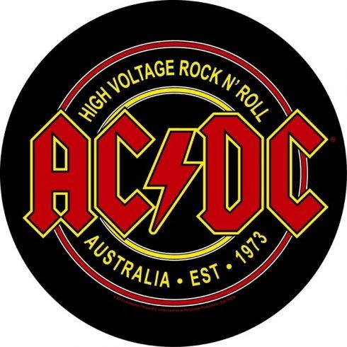 AC/DC - High Voltage Rock N Roll hátfelvarró