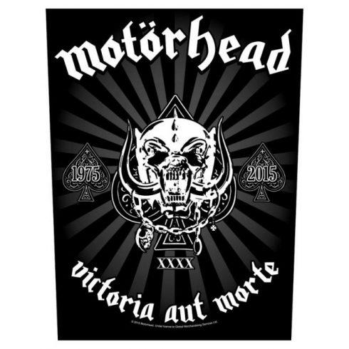 Motorhead - Victoria Aut Morte 1975-2015 hátfelvarró