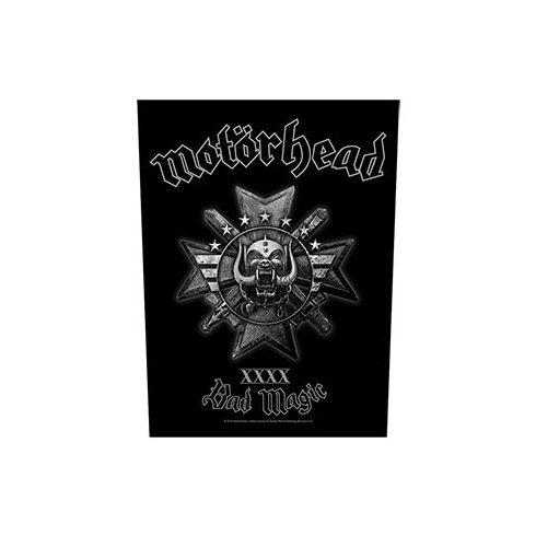 Motorhead - Bad Magic hátfelvarró