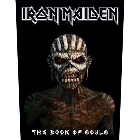 Iron Maiden - The Book Of Souls hátfelvarró