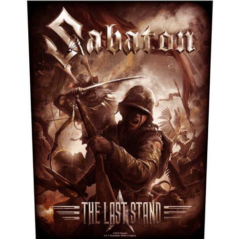 Sabaton - The Last Stand hátfelvarró