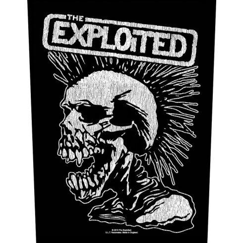 The Exploited - Vintage Skull hátfelvarró