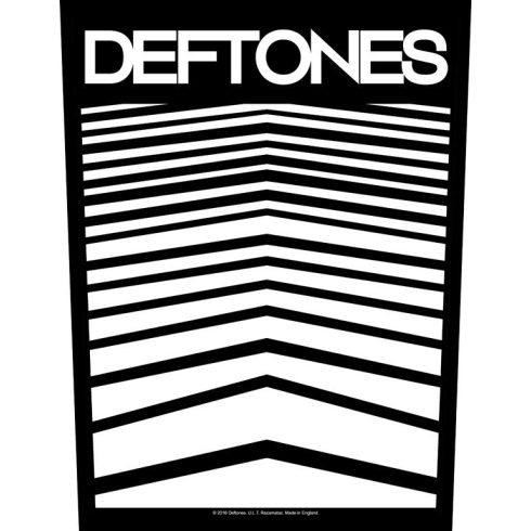 Deftones - Abstract Lines hátfelvarró