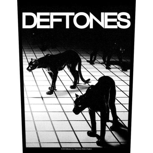 Deftones - Panther hátfelvarró
