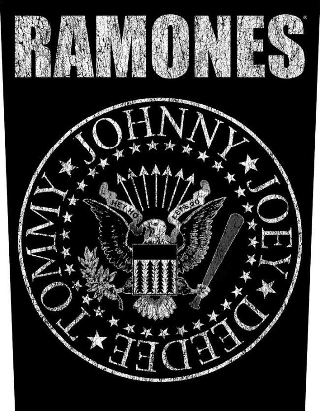 2500ee3e9f Ramones - Classic Seal hátfelvarró - RockStore.hu - Rockzenei ...