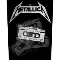 Metallica - No Life 'Til Leather hátfelvarró