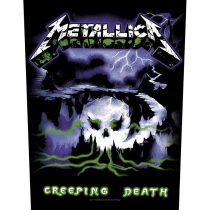 Metallica - Creeping Death hátfelvarró