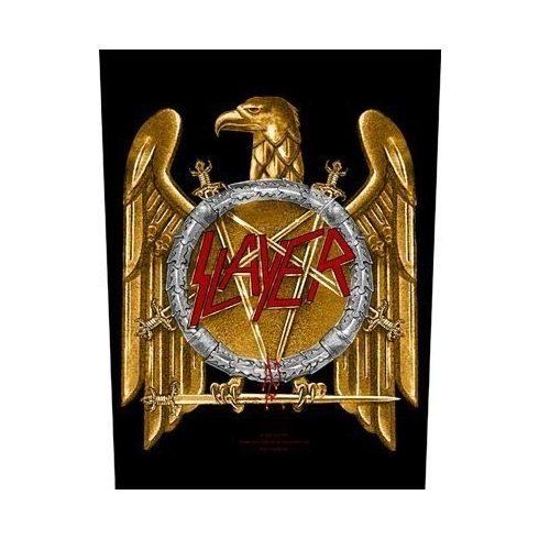 Slayer - Golden Eagle hátfelvarró