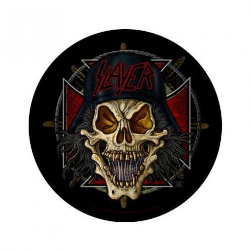 Slayer - Wehrmacht Circular hátfelvarró