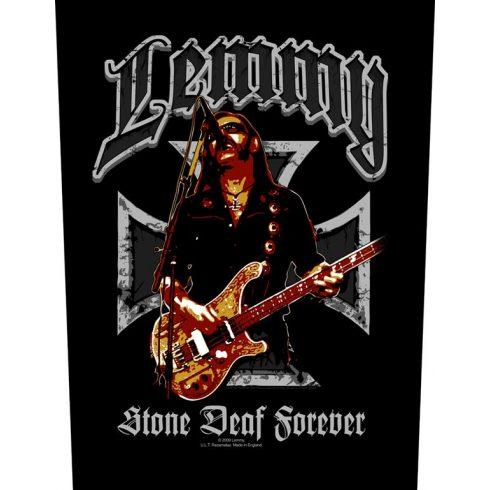 Lemmy - Stone Deaf Forever hátfelvarró