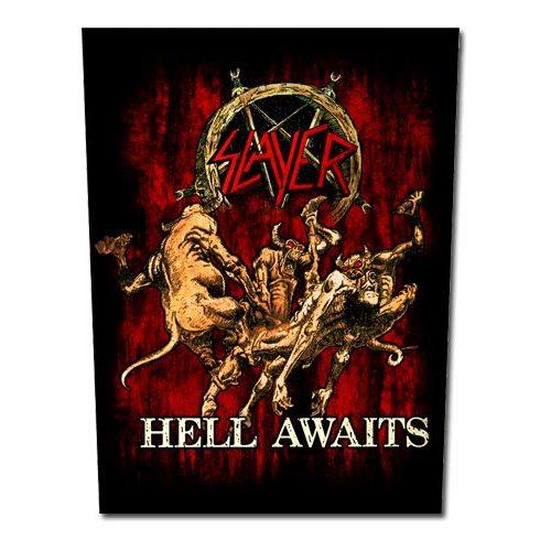 Slayer - Hell Awaits hátfelvarró