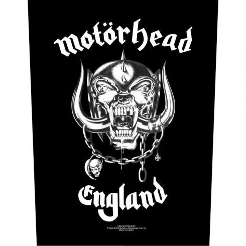 Motorhead - England hátfelvarró