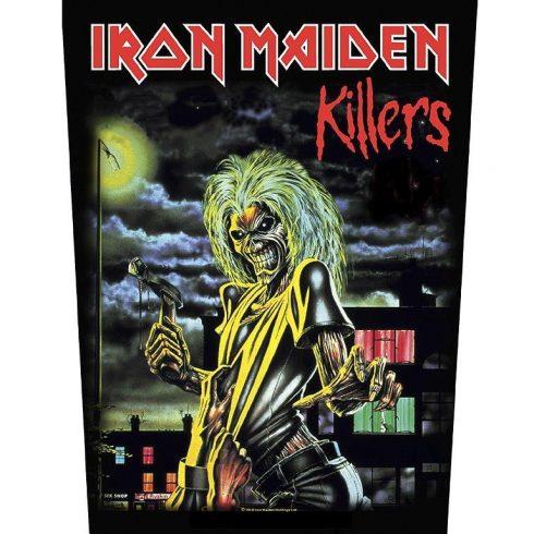 Iron Maiden - Killers hátfelvarró