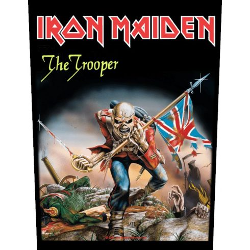 Iron Maiden - The Trooper hátfelvarró