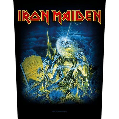 Iron Maiden - Live After Death hátfelvarró