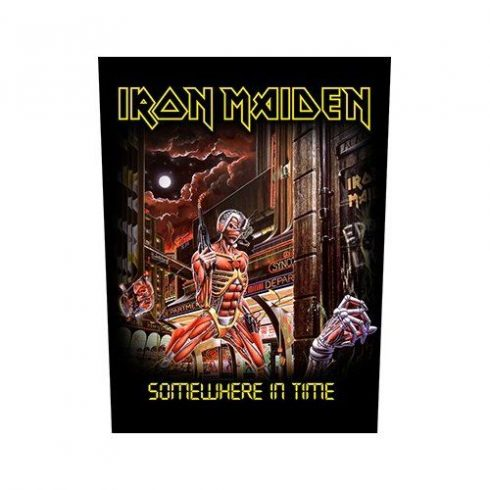 Iron Maiden - Somewhere In Time hátfelvarró