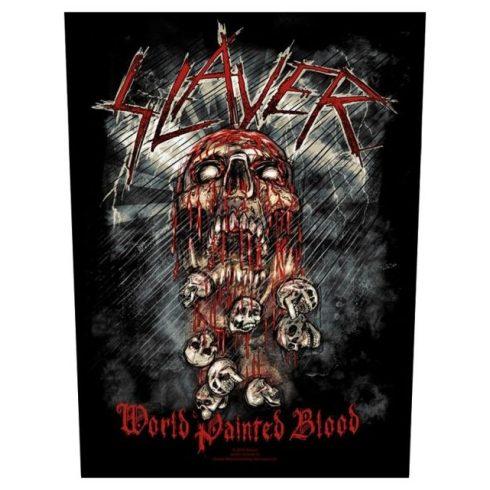 Slayer - World Painted Blood hátfelvarró