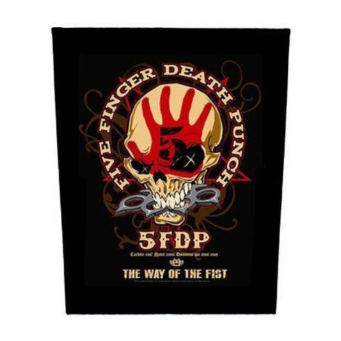 Five Finger Death Punch - Way Of The Fist hátfelvarró