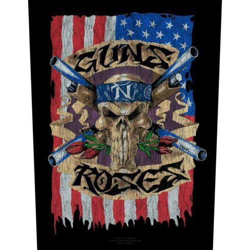 Guns N Roses - Flag hátfelvarró