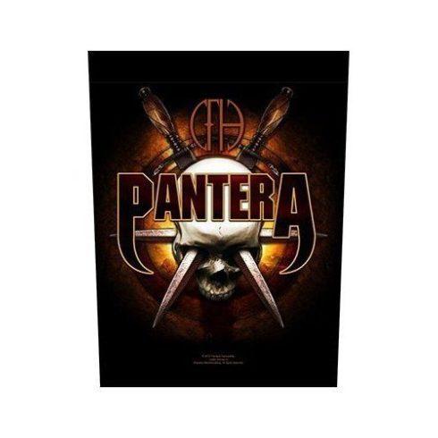 Pantera - Skull Knives hátfelvarró
