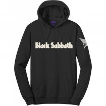 Black Sabbath - Logo & Daemon (Applique Motifs) pulóver