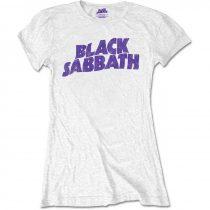 Black Sabbath - Wavy Logo Vintage (Retail Pack) női póló