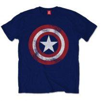Captain America Distressed póló