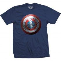 Captain America Civil War Clawed Shield póló