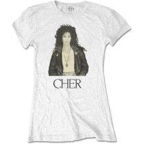 Cher - Leather Jacket női póló