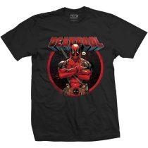 Deadpool Crossed Arms póló