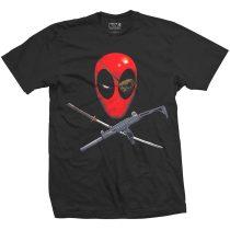 Deadpool Crossbones póló