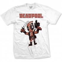 Deadpool Cartoon Bullet póló