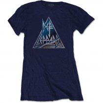 Def Leppard - Triangle Logo női póló