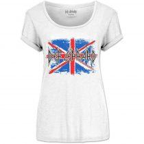 Def Leppard - Union Jack női póló