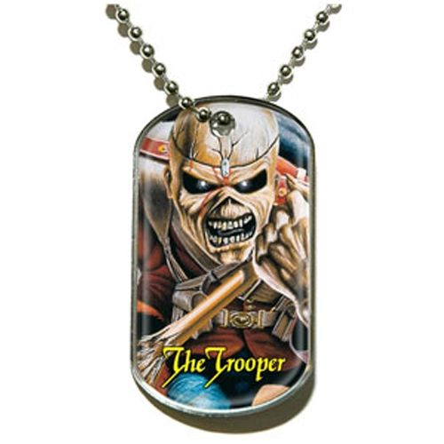 Iron Maiden - The Trooper dögcédula