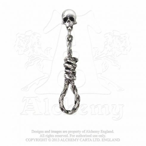 Alchemy Hang Man's Noose fülbevaló