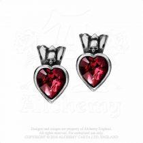 Alchemy Claddagh Heart fülbevaló