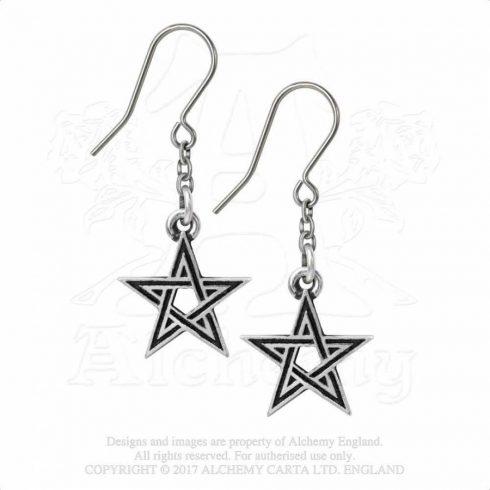 Alchemy Black Star fülbevaló