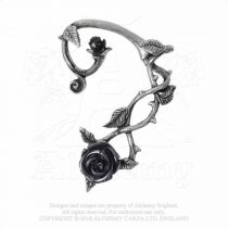 Alchemy Wild Black Rose fülbevaló