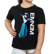 Eminem - Mic. Pose női póló