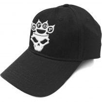 Five Finger Death Punch - White Logo baseball sapka