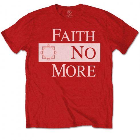 Faith No More - Classic New Logo Star póló