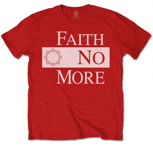 Faith No More - Classic New Logo Star póló