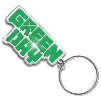 Green Day - Logo fém kulcstartó