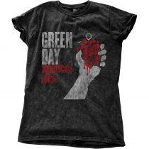 Green Day - American Idiot Vintage női póló