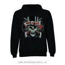 Guns N Roses - Distressed Skull pulóver
