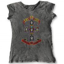 Guns N Roses - Appetite for Destruction Acid Wash női póló