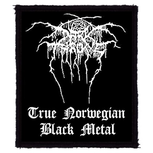 Darkthrone - True Norvegian Black Meta felvarró
