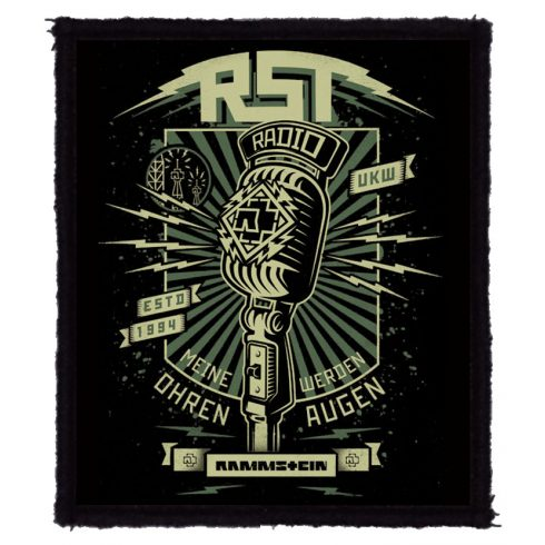 Rammstein - Radio felvarró